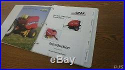 2014 New Holland Roll Belt Rb5 Round Baler Service Training Manual Dn75