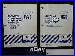 Echt New Holland BB930A BB940A BB950A BB960A Baler Reparaturhandbuch Set