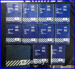 GENUINE NEW HOLLAND 585 BALER REPAIR MANUAL SET (complete, 10 books) NICE