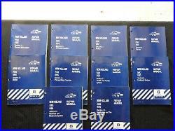 GENUINE NEW HOLLAND 590 595 BALER REPAIR MANUAL SET (complete, 10 books) NICE