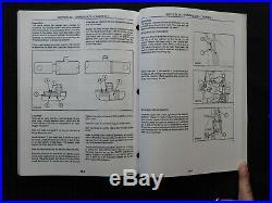 Genuine New Holland Br740 Br750 Br770 Br780 Bale Baler Repair Manual Set Nice