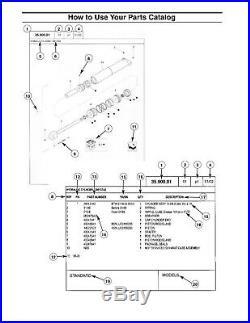 NEW HOLLAND BC5080 Small Square BALER PARTS CATALOG