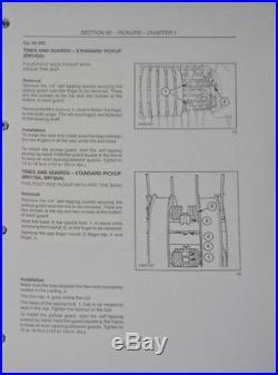 NEW HOLLAND BR740A BR750A BR770A BR780A ROUND BALER Service Manual Shop
