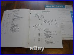 NEW HOLLAND Super Hayliner 268 Baler ERSATZTEIL KATALOG 1965 + Update 1966