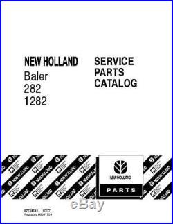 New Holland 282,1282 Baler Parts Catalog