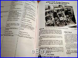 New Holland 311 Hayliner Baler Operator's AND Parts Manual Catalog Book NH