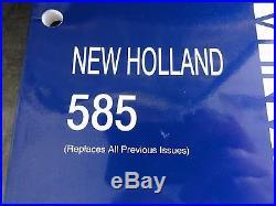 New Holland 585 Baler Operator's Manual