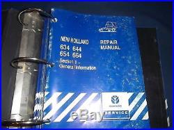 New Holland 664 Baler Service Manual