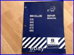 New Holland 638 648 658 678 688 Baler factory service repair manual
