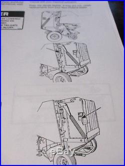 New Holland 638-648-658-678-688 Round Baler Repair Manual 1999 | New