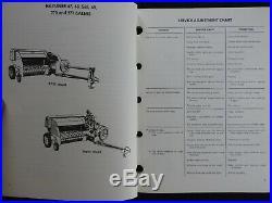 New Holland 66 67 68 69 77 78 80 87 268 270 271 280 & Super Baler Repair Manuals