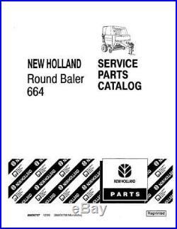 New Holland 664 Round Baler Parts Catalog