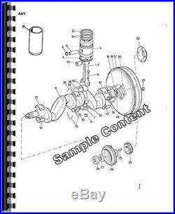 New Holland 846 Round Baler Parts Manual Catalog