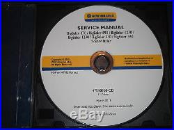 New Holland 870 890 1270 1290 330 340 Big-baler Service Shop Repair Manual CD