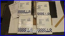 New Holland BB940, BB950, BB960 Big Baler Repair/Service Manual 4 pc Set