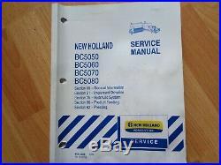New Holland BC5050 5060 5070 5080 Baler factory repair manual OEM