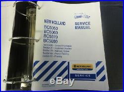 New Holland BC5050 BC5060 BC5070 BC5080 Square Balers Repair Manual