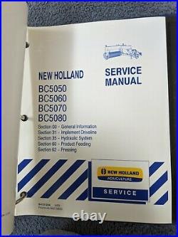 New Holland BC5050 BC5060 BC5070 BC5080 Square Balers Shop Service Repair Manual
