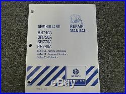 New Holland BR 740 750 770 780 A Baler Shop Service Repair Manual 00-31-35