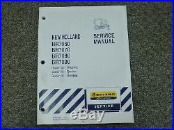 New Holland BR7060 BR7070 BR7080 BR7090 Baler Service Repair Manual SEC 68 70 90
