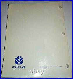New Holland BR730 Round Baler Service Repair Shop Workshop Manual NH ORIGINAL