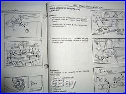 New Holland BR730 Round Baler Service Repair Shop Workshop Manual Original! 6/03