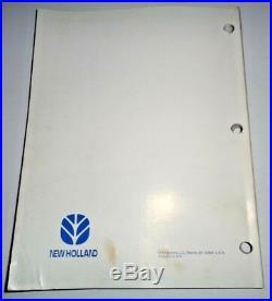 New Holland BR730A Round Baler Service Repair Shop Workshop Manual Original