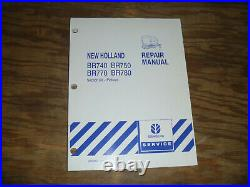 New Holland BR740 BR750 BR770 BR780 Baler Pickups Shop Service Repair Manual