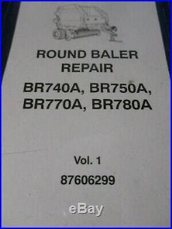 New Holland BR740A, BR750A, BR770A, BR780A Round Baler Repair Manual 2006
