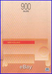 New Holland Baler 920 925 930 935 940 945 Manual