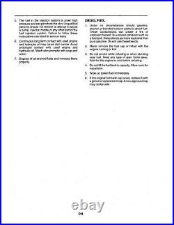 New Holland Bb900 Baler Operators Manual