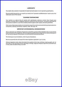 New Holland Bb9050 Bb9060 Bb9070 Bb9080 Baler Operators Manual