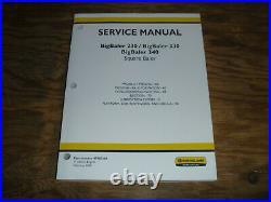New Holland BigBaler 230 330 340 Square Baler Feeding Shop Service Repair Manual
