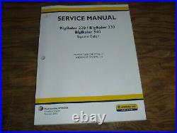 New Holland BigBaler 330 Square Baler Hydraulic PTO Shop Service Repair Manual