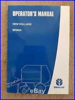 New Holland Br560a Baler Operators Manual