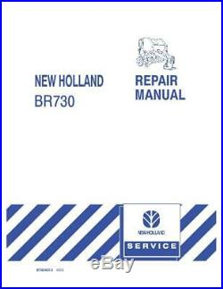 New Holland Br730 Round Baler Service Manual