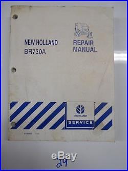 New Holland Br730a Round Baler Service Repair Shop Manual 87364832 11/05
