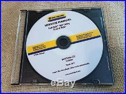 New Holland Roll Belt 450 Round Baler Service Repair Manual Original CD