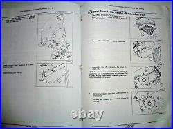 New Holland Roll Belt 450 Utility Round Baler Service Manual NH ORIGINAL! 3/11