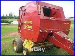 New Holland Round Baler 644 654 & 664 Workshop Service Manual