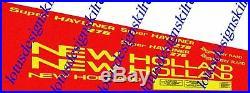 New holland 276 baler stickers / decals