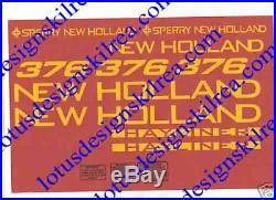 New holland baler stickers / decals