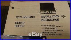 OEM New Holland BB940, BB960 BALER Repair & BB900 Operator's Manual 3 book Set