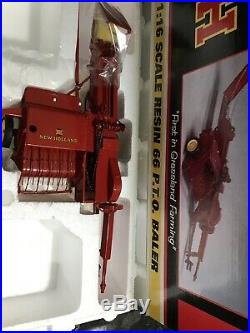 SpecCast 1/16 New Holland Resin 66 P. T. O. Baler NIB